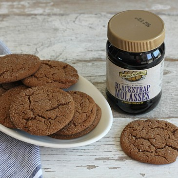 Blackstrap Molasses Cookies