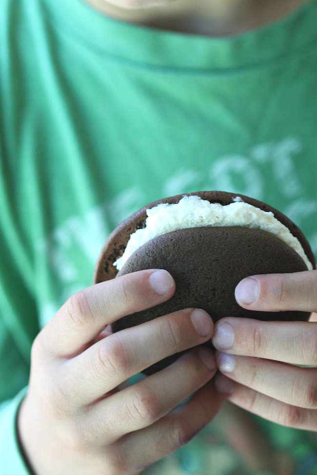 Buttery Whoopie Pies