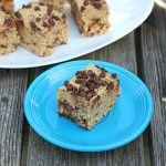 No Bake Chocolate Chip Oatmeal Bars