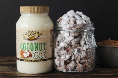 Coconut Oil Muddy Buddies