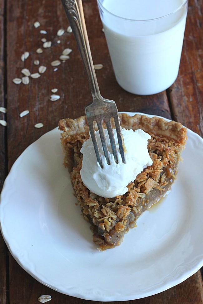 Poor Man's Pecan Pie (Oatmeal Pie)