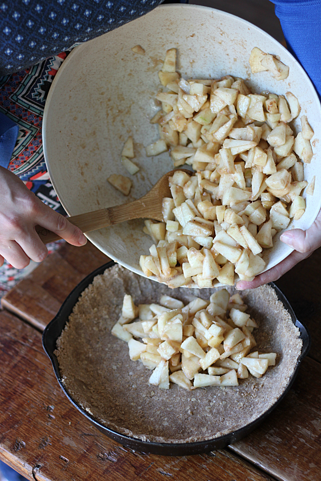 Adding Apples to Crust