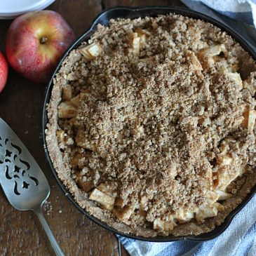 Dutch Apple Pie with Brown Butter Crust