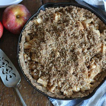 Dutch Apple Pie with Brown Butter Crust