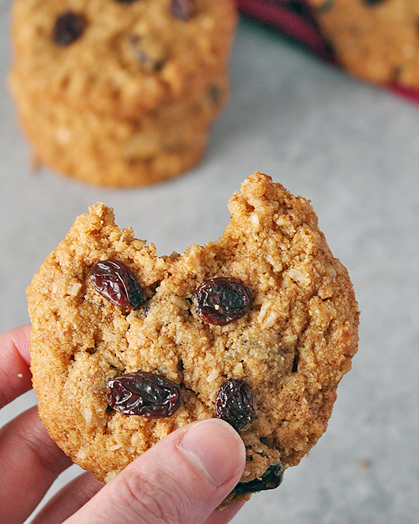 Coconut Oil No Oatmeal Cookies