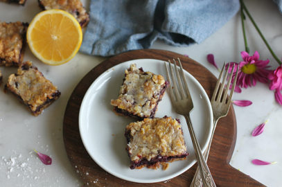 Blueberry Lemon Crumb Bars