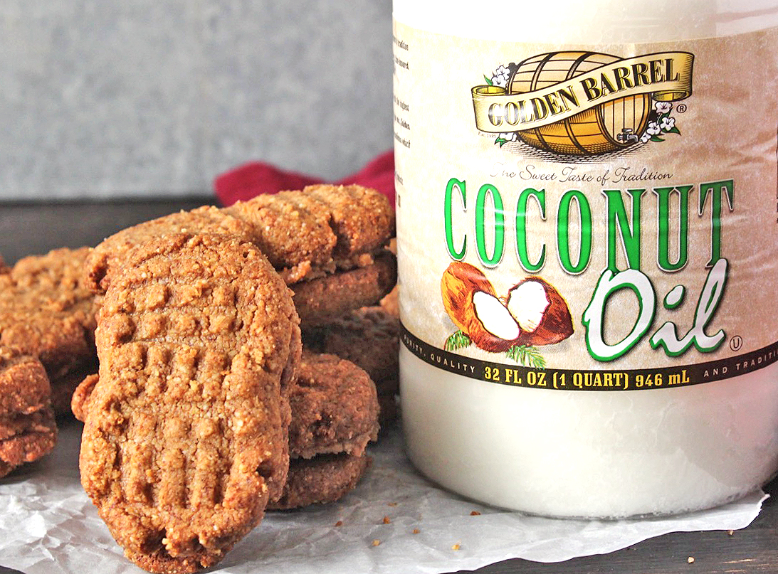 Paleo Nutter Butter Cookies with Golden Barrel Coconut Oil