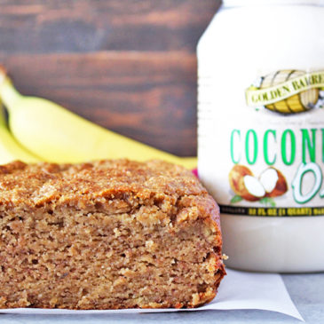 Paleo Coconut Oil Banana Bread