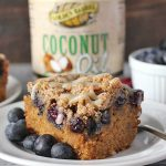 Paleo Blueberry Coffee Cake
