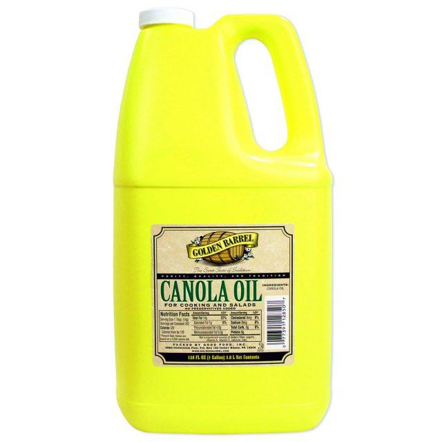 Golden Barrel Canola Oil Gallon