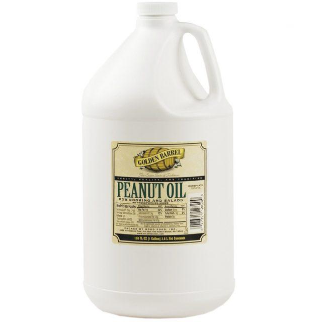 Golden Barrel Peanut Oil Gallon
