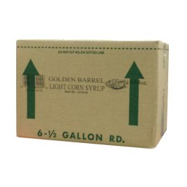 Case of Golden Barrel Light Corn Syrup 6/1/2 Gallons
