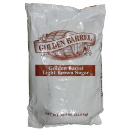 Golden Barrel Light Brown Sugar 50 lb Bag