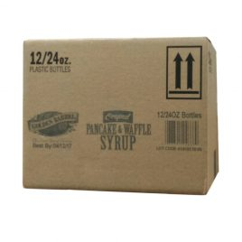 Case of Golden Barrel Pancake & Waffle Syrup 12/24 oz