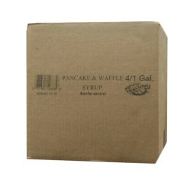 Case of Golden Barrel Pancake & Waffle Syrup 4/1 Gallons