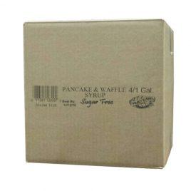 Case of Golden Barrel Sugar Free Pancake & Waffle Syrup 4/1 Gallons