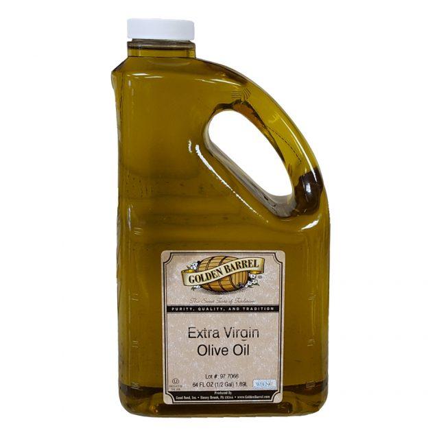 Golden Barrel Extra Virgin Olive Oil 64 oz.
