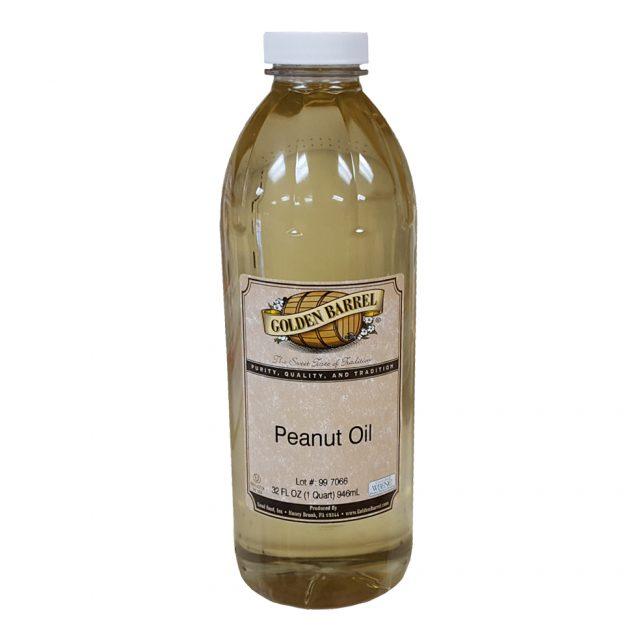 Golden Barrel Peanut Oil 32 oz.
