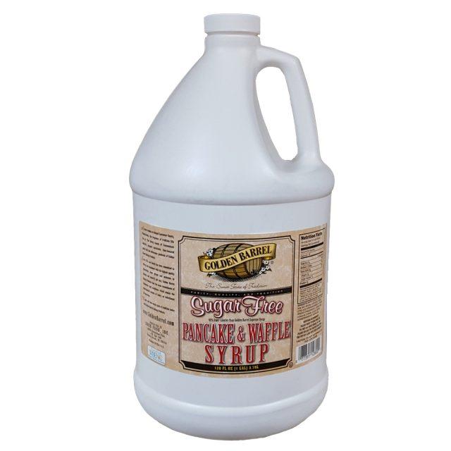 Golden Barrel Sugar Free Pancake & Waffle Syrup Gallon