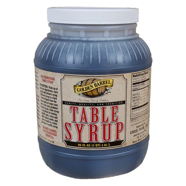 Golden Barrel Table Syrup 96 oz