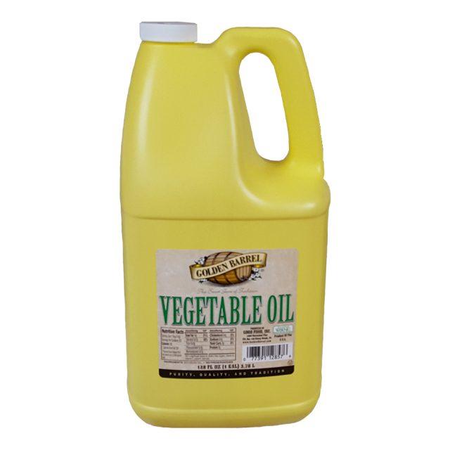 Golden Barrel Vegetable Oil Gallon