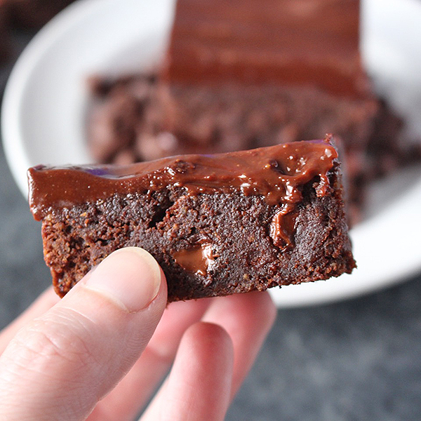 Paleo Triple Chocolate Brownies