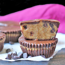 Paleo Cookie Dough Cups