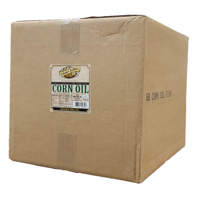Golden Barrel Corn Oil 4/1 Gallon Case