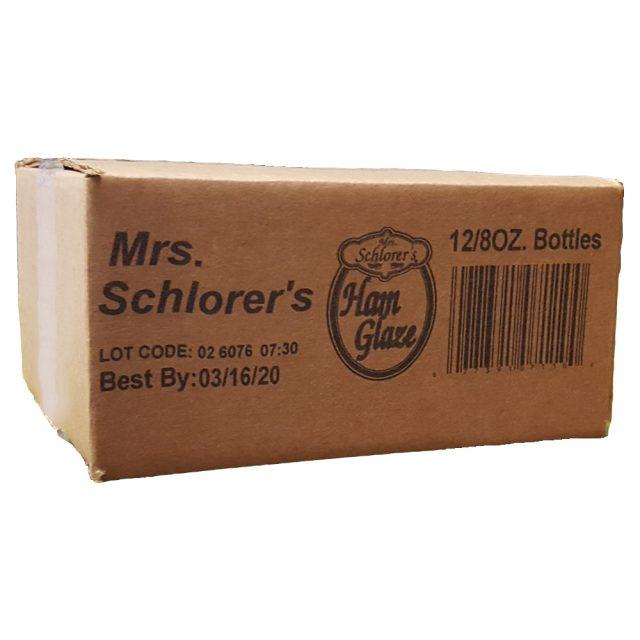 Mrs. Schlorer's Ham Glaze 12/8 oz Case
