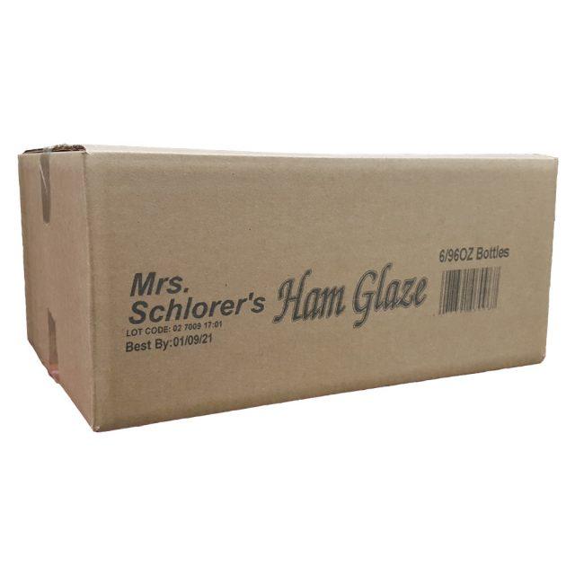 Mrs. Schlorer's Ham Glaze 6/96 oz Case