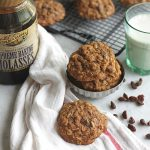 Oatmeal Molasses Cookies