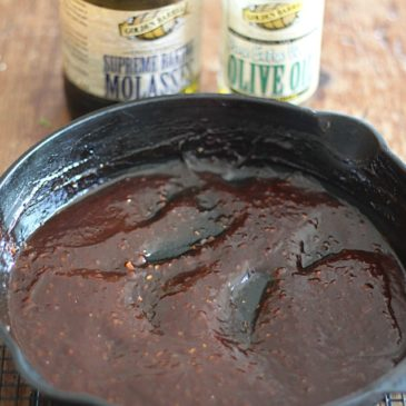 Molasses Bourbon Steak Sauce