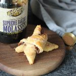 Easy Cinnamon Crescent Rolls with Molasses Cinnamon Icing