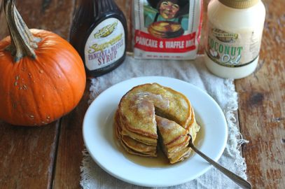 Easy Pumpkin Pancakes (with Golden Barrel Pancake Mix)