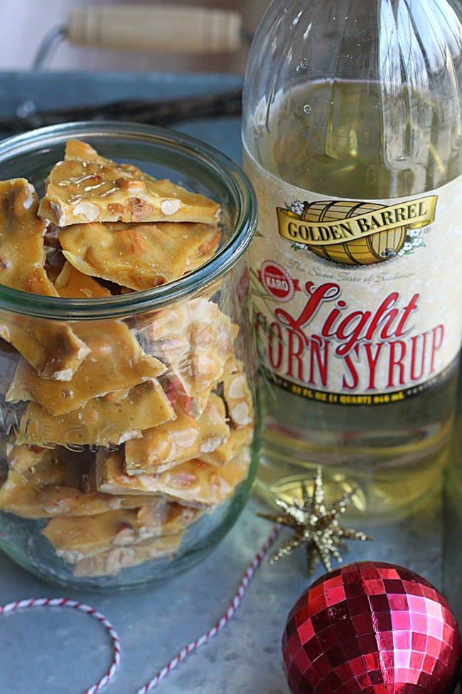 Peanut Brittle with Golden Barrel Light Corn Syrup