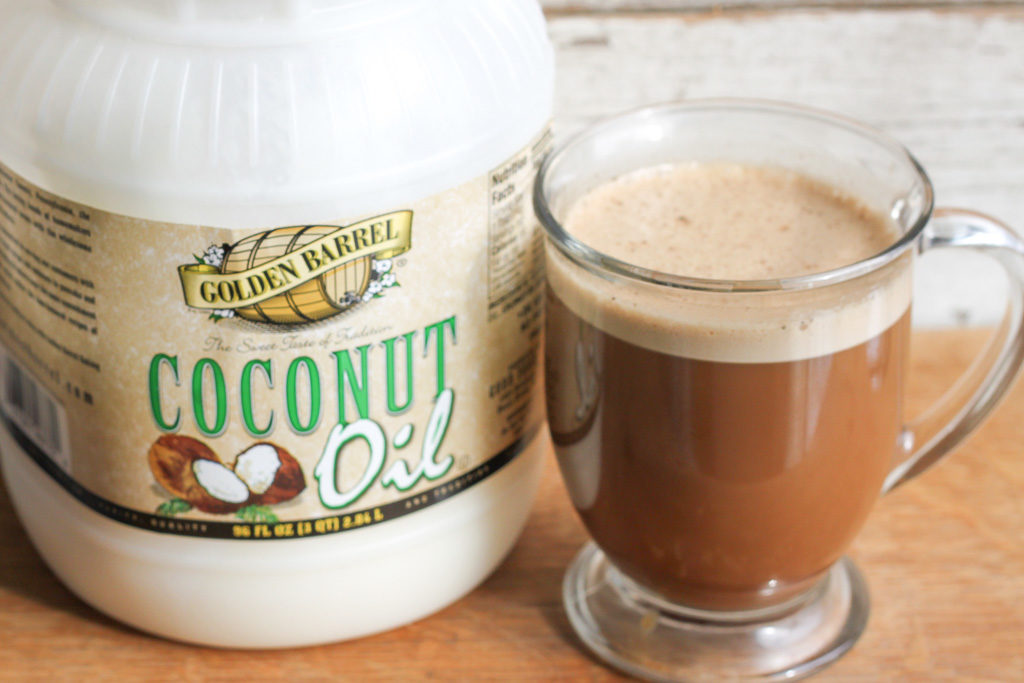 Golden Barrel Coconut Oil Coffee
