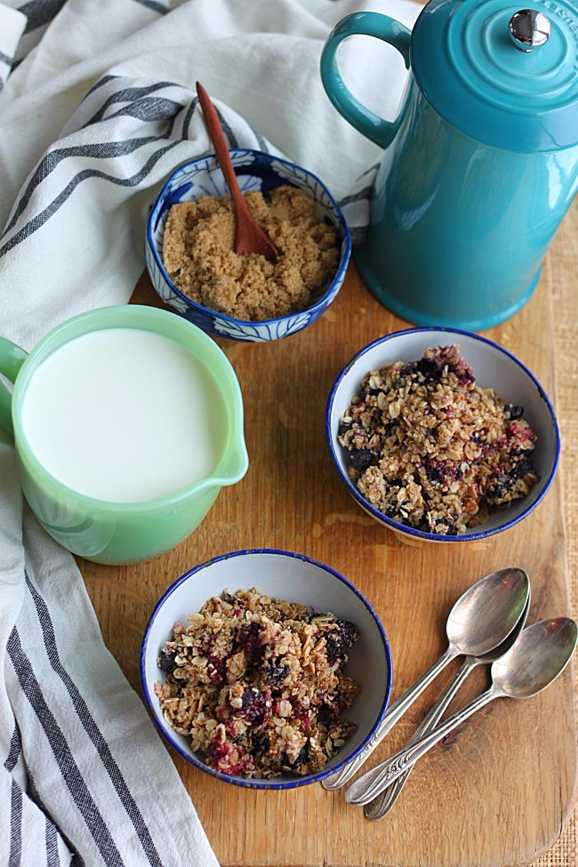 Berry Oatmeal Crunch