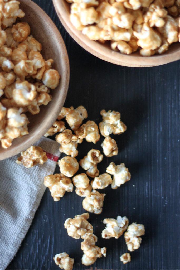 Classic Homemade Caramel Corn