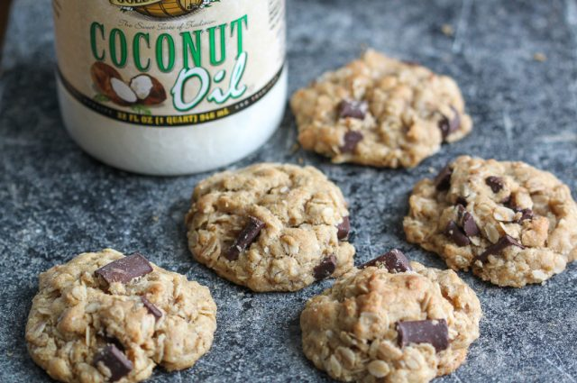 Oatmeal Chocolate Chunk Cookies