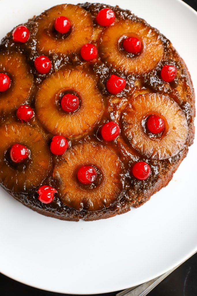 Skillet Pineapple Upside-Down Cake - Golden Barrel