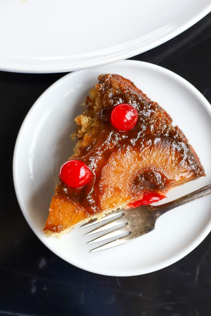Pineapple Upside-Down Cake - Golden Barrel