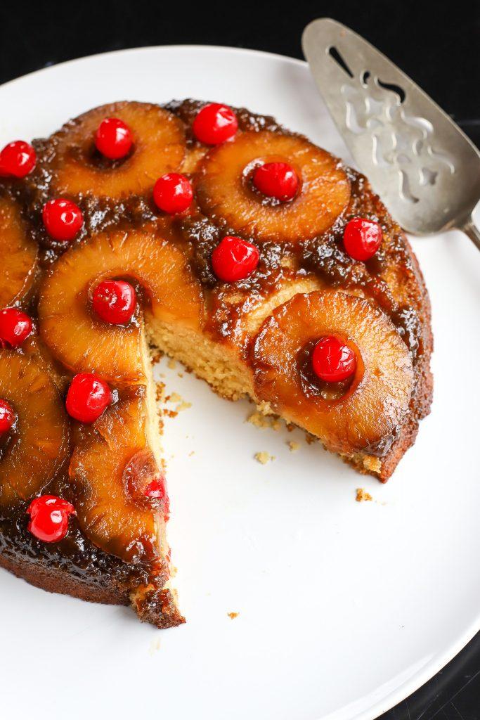 Skillet Pineapple Upside-Down Cake - Golden Barrel