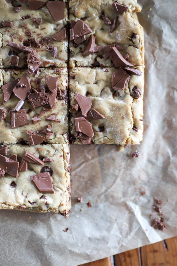 Salted Milk Chocolate Blondies