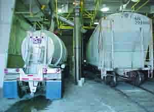 L&S Sweeteners Dry Bulk Transfer