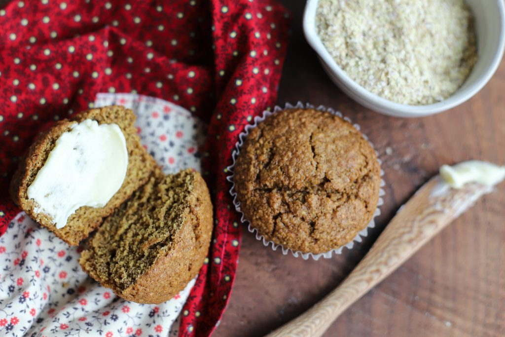 Raisin Wheat Germ Muffins