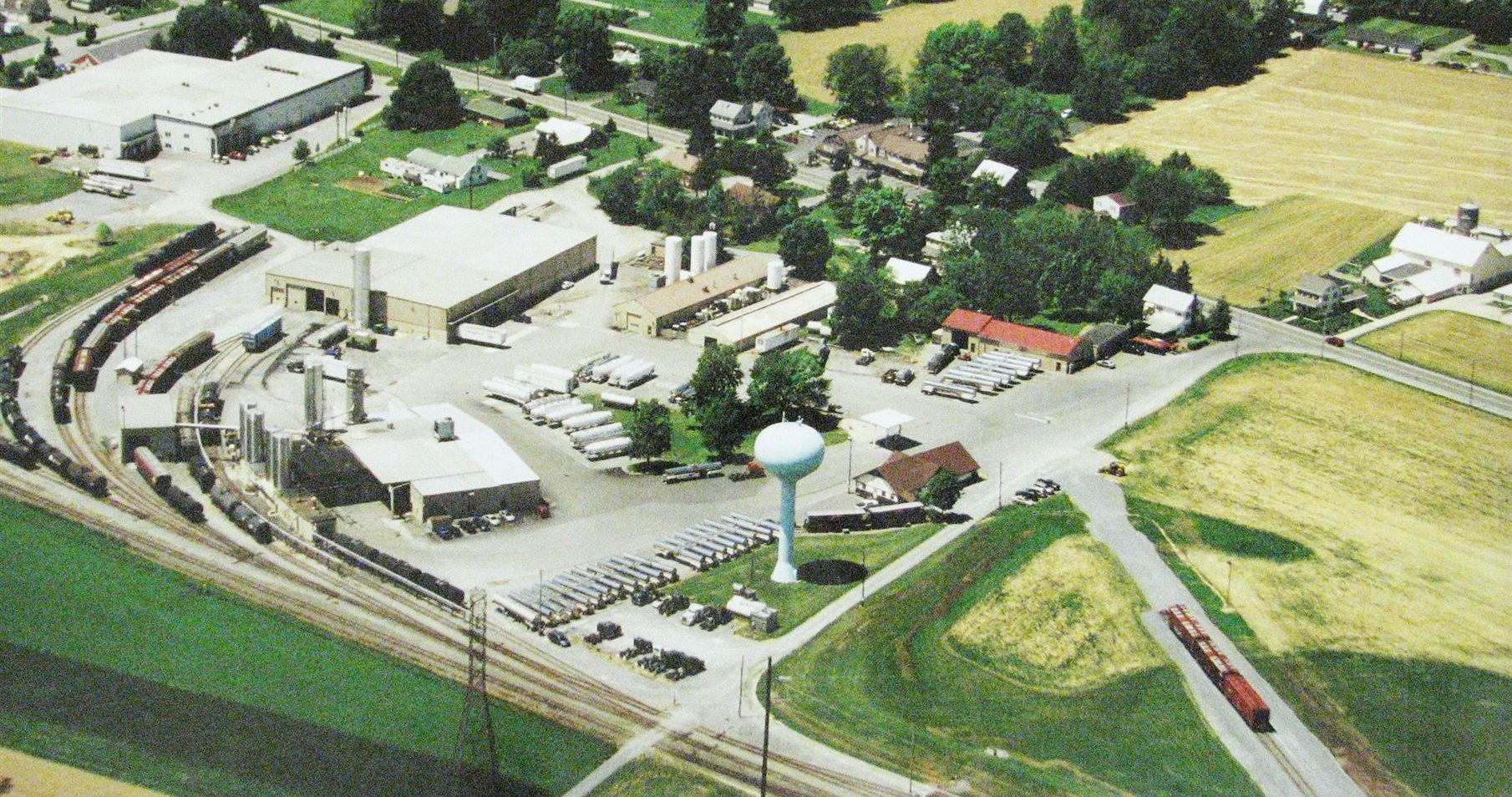 Aerial View of L&S Sweeteners