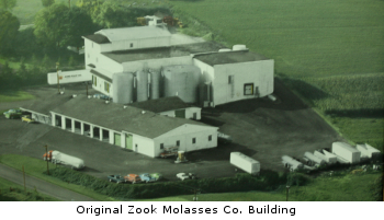 Old Zook Molasses Building Before Good Food, Inc.