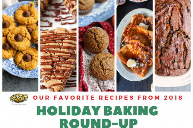 2018 Golden Barrel Holiday Baking Round-Up