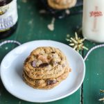 Brown Butter Molasses Chocolate Chip Cookies