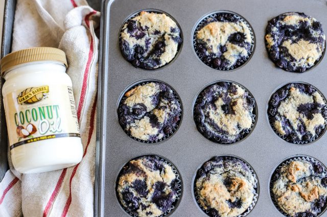 Vegan Wild Blueberry Muffins